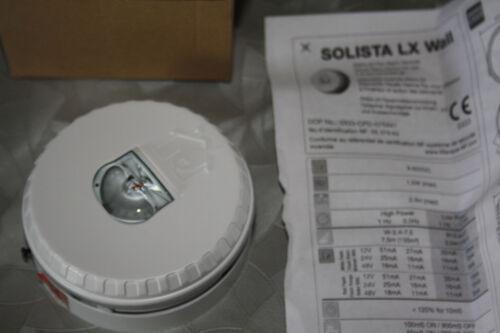 dispositif visuels alarme feu  utilisation interieur batiments solista lx wall
