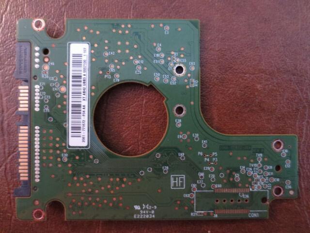 Western Digital WD2500BEVT-60A23T0 (2061-771672-F04 AA)  250gb Sata PCB