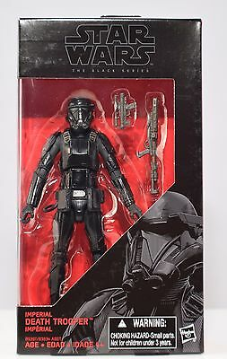 "Hasbro Star Wars The Black Series 6/"" Imperial Death Trooper #25 MIB"
