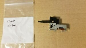 Kenwood KR-6050 receiver IF Band switch S33-2053-05