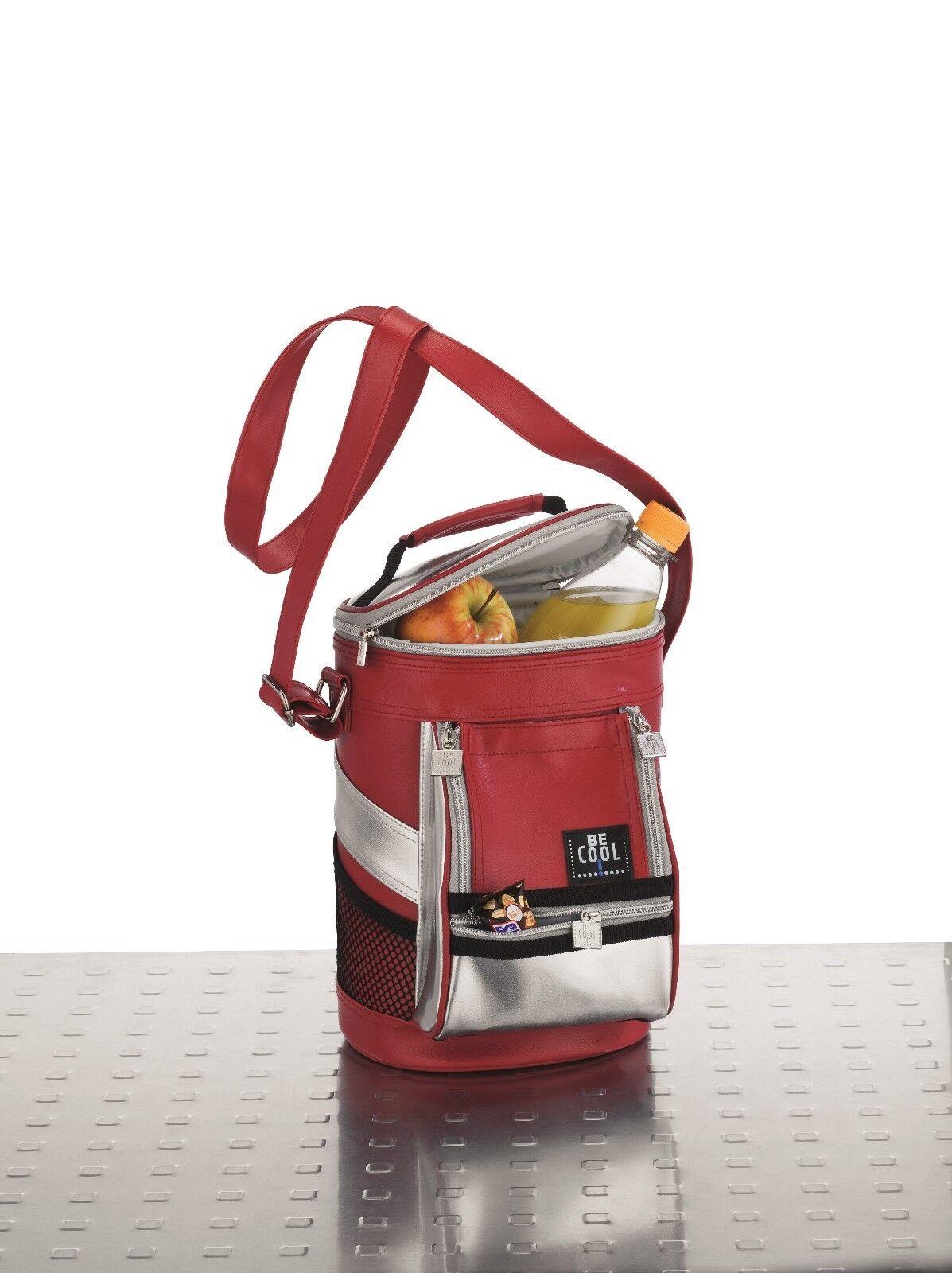 BECool Kühltasche Lini Silber   Rot  | Ermäßigung  Ermäßigung  Ermäßigung  3b8a7f