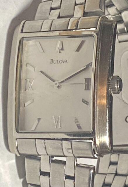Bulova Mens Stainless Steel Watch C869722 A9