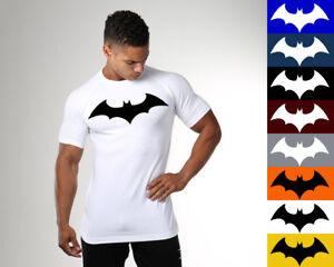 Men-039-s-Gym-Batman-Fitness-Bodybuilding-Muscle-Cotton-Athletic-T-shirt-Tee-Vest