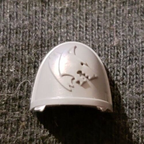 Warhammer 40k Space Marine Deathwatch Army Bits Space Wolves Shoulder Pad