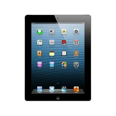 "Apple iPad 4 MD510LL/A-B 9.7"" Retina Touchscreen 16 GB Apple A6 1.40 GHz iOS 6 W"