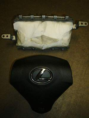 lexus rx330 rx350 rx400h airbags both driver  u0026 passenger