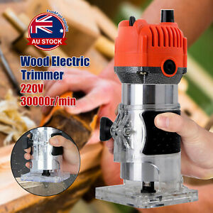 800W-Electric-1-4-039-039-Woodworking-Trimmer-Hand-Laminate-Tool-Router-30000RPM-C