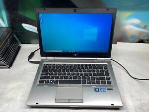HP EliteBook 8460p Laptop / i5 2.5GHZ / 160GB / 4GB DDR3 Windows 10 / Battery
