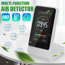 3 In 1 Air Quality Monitor Indoor Co2 Detector Air Pollution Co2 Detector Tester