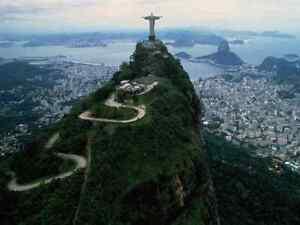rio de janeiro brazil christ redeemer cristo redentor 16x20 canvas