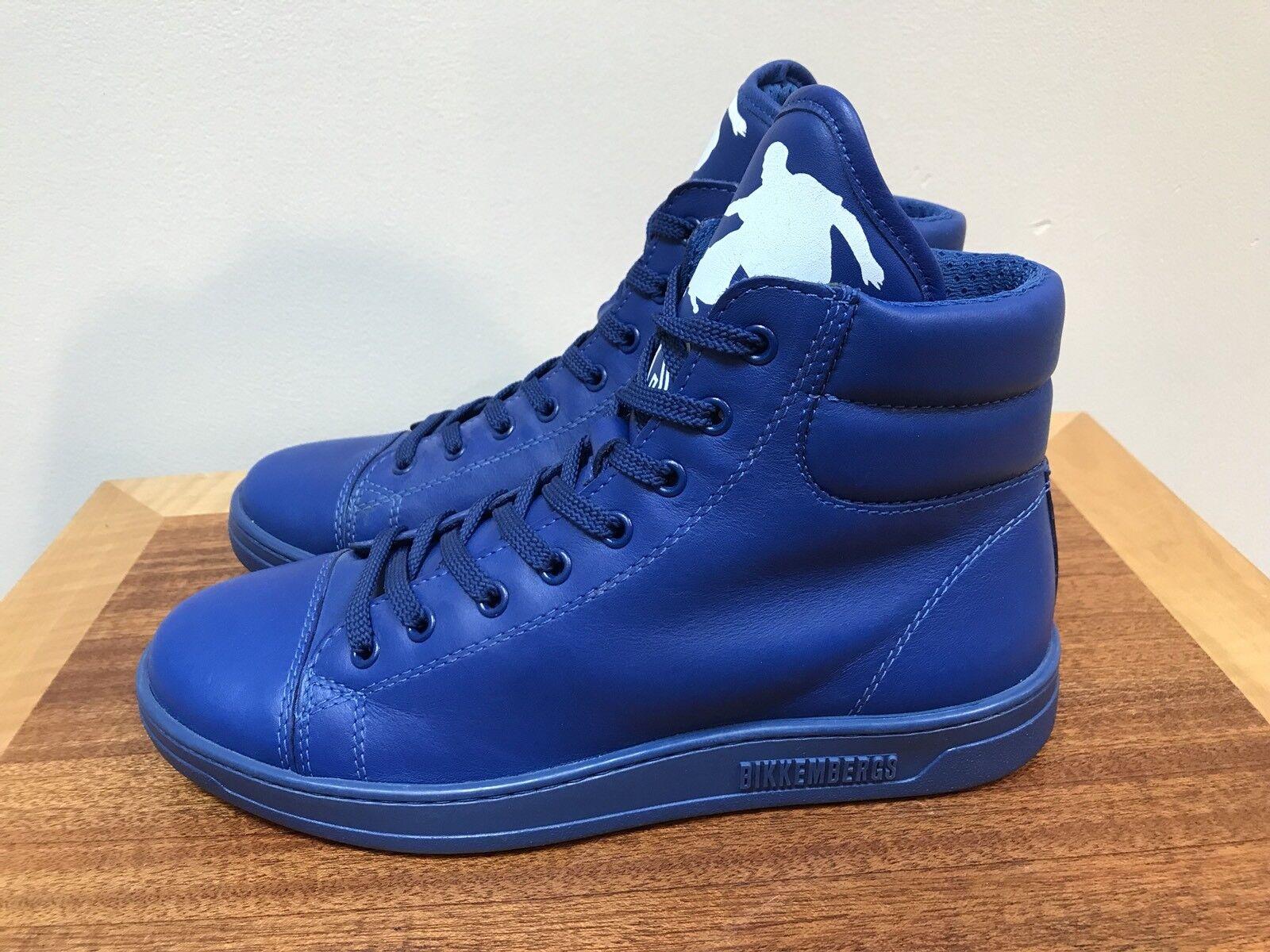 NEW Bikkembergs BikkSK8 Zip High Tops Athletic scarpe ELECTRIC ELECTRIC ELECTRIC blu Dimensione 37 098400