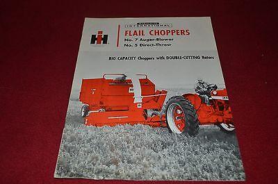 International Harvester No.7 No.5 Flail Choppers Dealer/'s Brochure