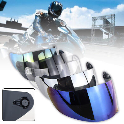 Motorcycle Helmet Lens Shield Visor Full Face Anti-scratch//UV For AGV K1 K3SV K5