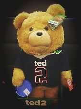 Ted 2 Ted in Jersey 16-Inch R-Rated Animated Talking Plush Teddy Bear IN STOCK