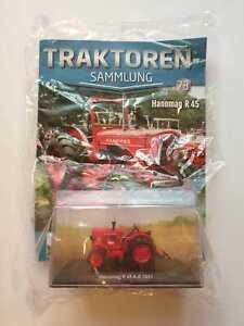 TRATTORI-HACHETTE-COLLEZIONE-N-73-Hanomag-R-45-con-punti