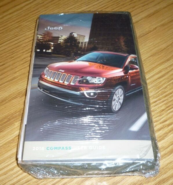 2018 Jeep Compass User Guide Owners Manual Set With Case Manual Guide