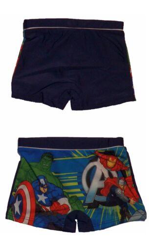 Rot NEU 910-323 Avengers Badehose Badeshort Kinder Jungen Blau
