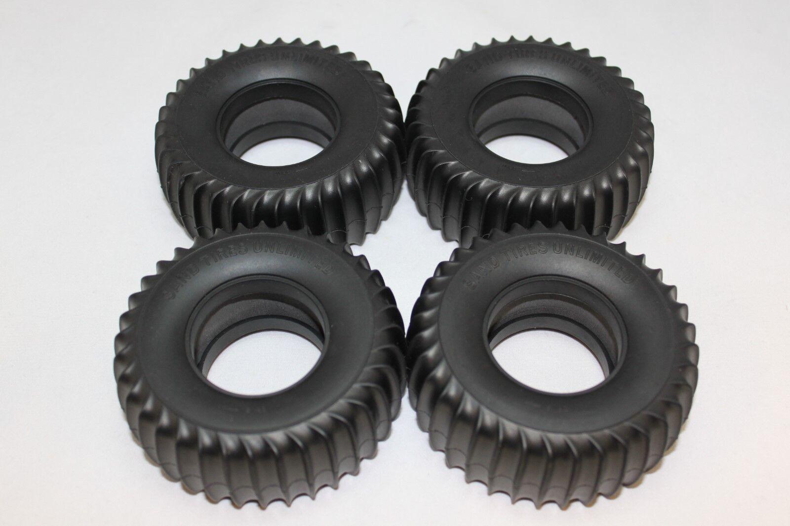 Neumáticos Set Con Insertos Para Tamiya ardiente Blazer 58029 Wild Willy I 58035