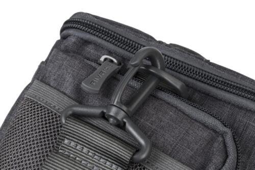 Riva 7502 Colt Protección Bolsa funda de silicona canvas gris para Sony Alpha slt-a77