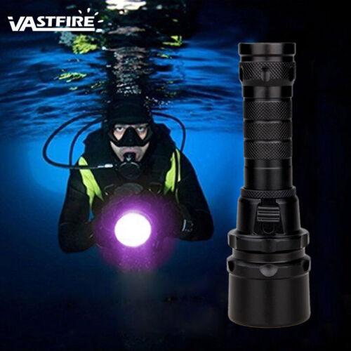 UV 395nm 10W LED Scuba Taschenlampe Tauchen Lampen Licht unter Wasser bis 100m