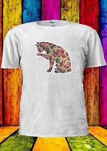 Floral-Cat-Design-Flowers-Tumblr-T-shirt-Vest-Tank-Top-Men-Women-Unisex-1687