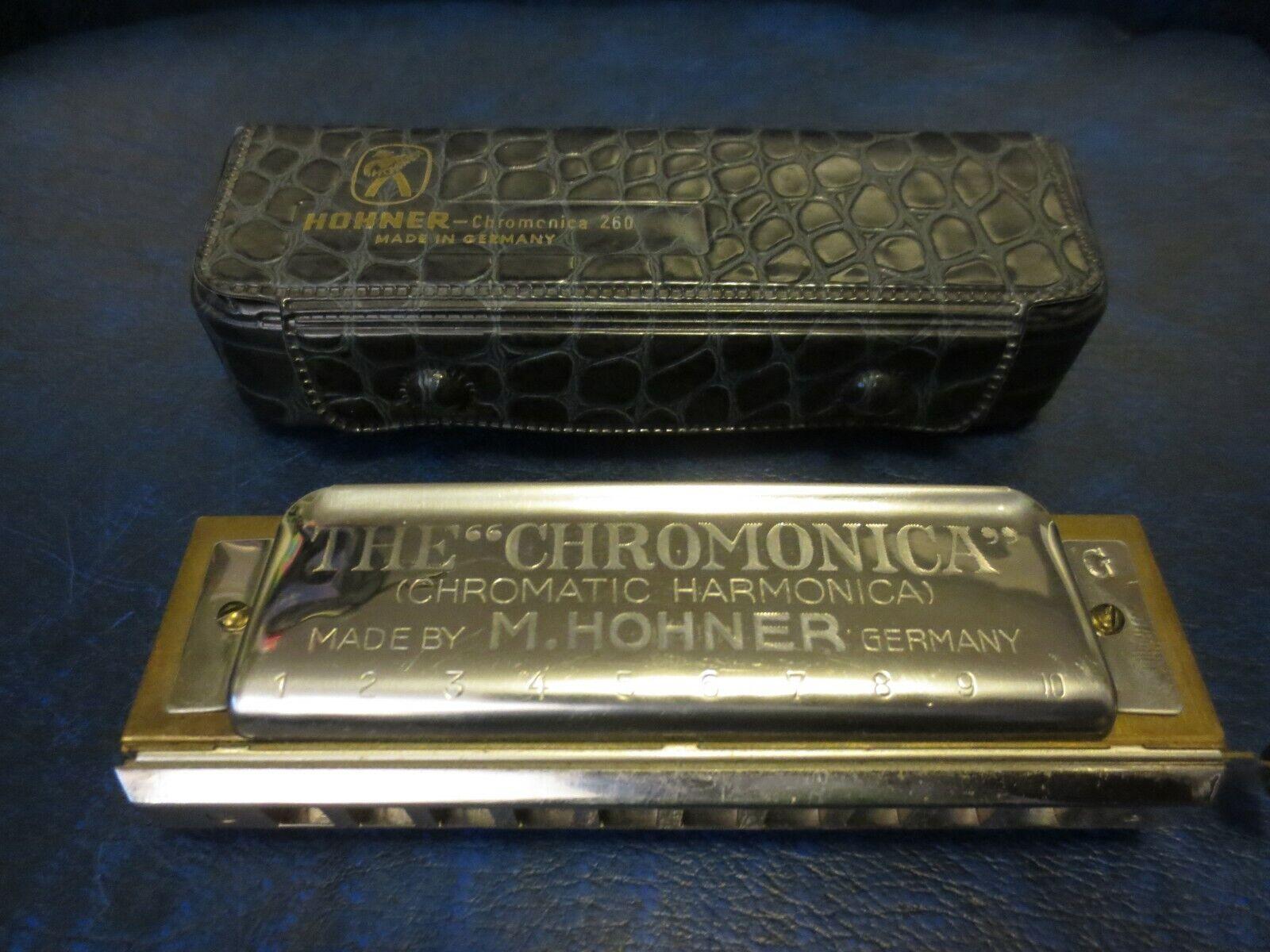Antique Vintage HOHNER CHROMONICA 260 Key of G