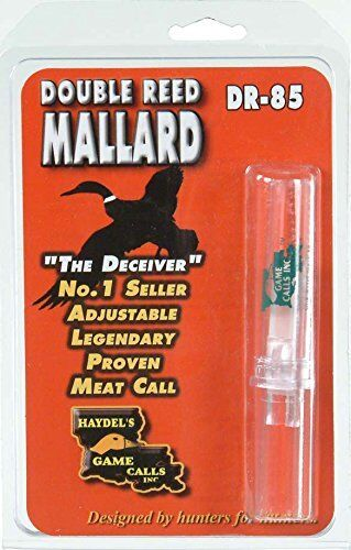 Haydel/'s Game Calls Dr-85 Double Reed Mallard Call for sale online
