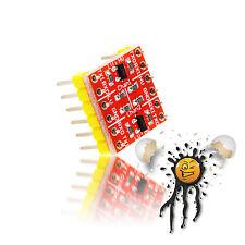 4 Kanal Logic Level Converter Modul TTL RS232 UART 3.3V 2.8V ESP8266 GSM Arduino