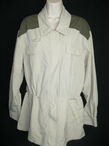Polyester Lg Windbreaker North Face Jacket Khaki Womens Cordura Størrelse The xST0q4wzOw