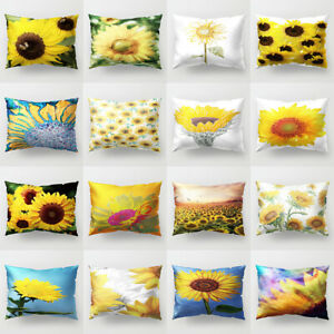 12x20-039-039-Pillow-Case-Sunflower-Sofa-Bed-Cushion-Cover-Home-Bedroom-Decor-Surprise