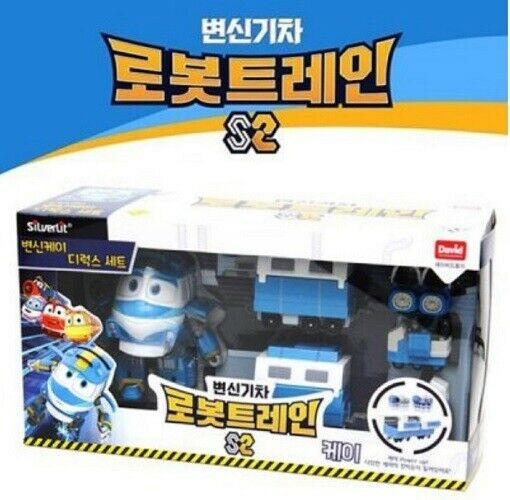 DAVIDTOY Robot Train S2 Toy Transformer Robots KAY Deluxe Play Set Kids_emga