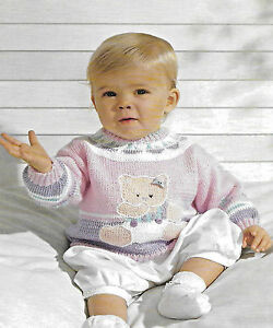 Baby-toddler-teddy-bear-cardigan-outfit-knitting-pattern-3-18mth-3-ply-157