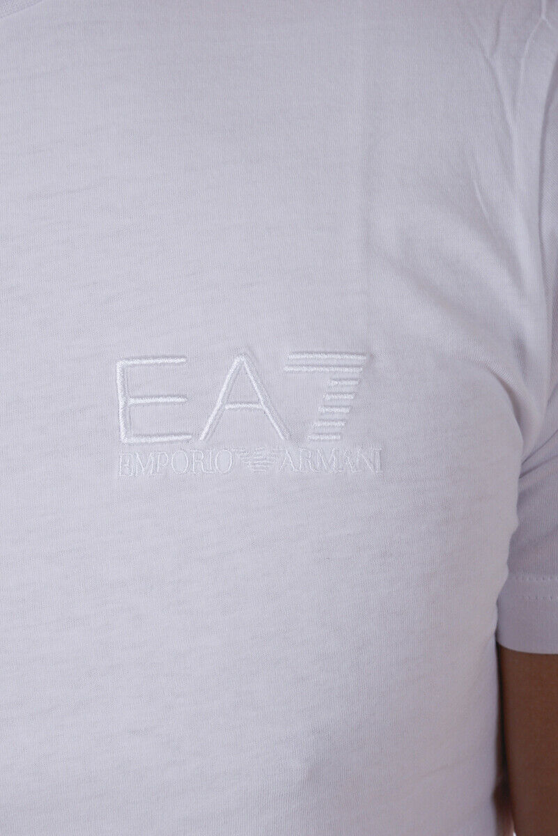 T shirt Maglietta Emporio Emporio Emporio Armani EA7 Sweatshirt Uomo Bianco 3YPTB0PJ48Z 1100 6ec85e