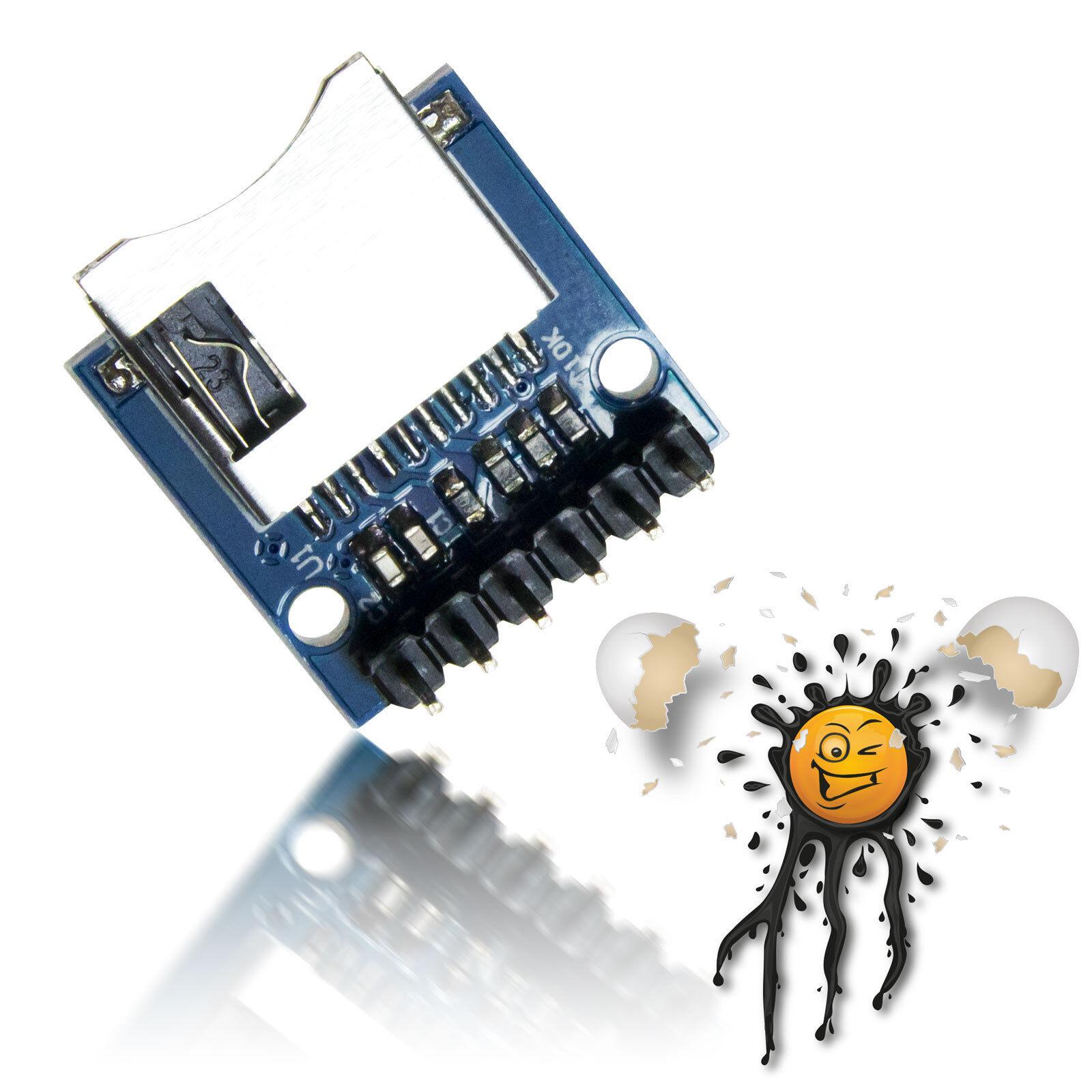 3.3v esp8266 Arduino micro SPI lector de tarjetas Card Reader 2gb SD 8gb SDHC card 3.3v