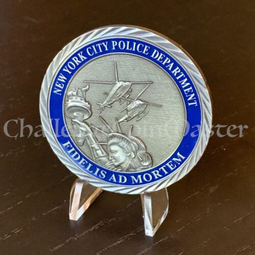 C64 NYPD Aviation Police Unit Challenge Coin