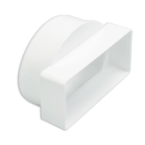 grilles Rectangulaire 110 X 54 mm plastique plat canal conduits raccords tubes poteries