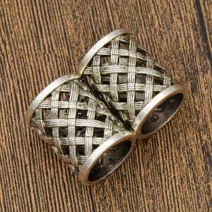 Image Is Loading Dreadlock Beads Vintage Celtic Viking Dread Hair Braids