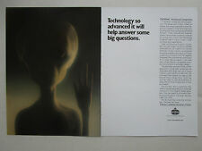 2/1989 PUB AMOCO THORNEL ADVANCED COMPOSITES E.T AEROSPACE DESIGNS ORIGINAL AD