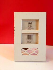 Black White Walnut Shabby Chic Distressed Wood Finish Poster Frame Frames