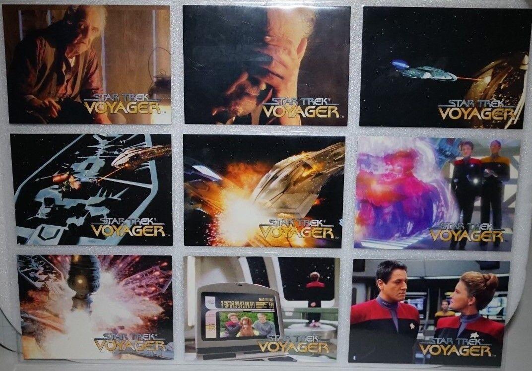 cómodamente Estrella Trek Voyager .skybox 1995 X X X 72 Juego Temporada 1  marca famosa