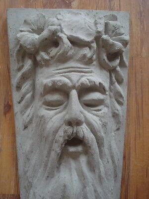 Fassadenstuck - Herrschaftlicher Männerkopf - Jugendstil - Aus Beton Für Aussen