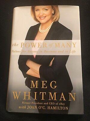 Meg Whitman Ebay The Power Of Many Author Signed Hc First Edition 2010 Ebay