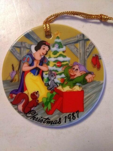 "The Disney Collection Christmas 1987 ""Snow White's ..."