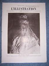 L'ILLUSTRATION 3518  30/7/1910 IMPERATRICE TAITOU CARICATURES HANSI OMER-DECUGIS