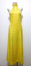 CULT VINTAGE '70 Abito Vestito Donna Rayon Woman Party Dress Sz.S - 42