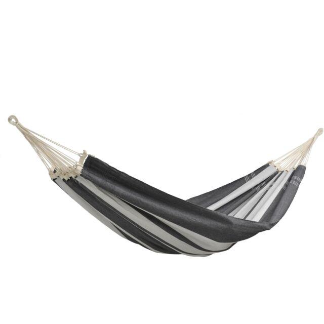 Amazonas brasilianische hängematte Paradiso XXL 2.5x1.75m silver silber//Grau
