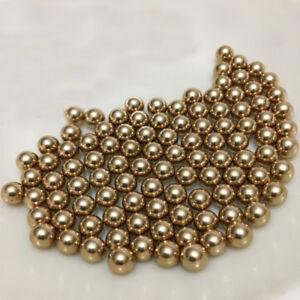 5mm 500PCS Brass H62 Solid Bearing Balls High Precision