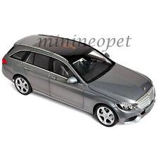 NOREV 183475 2014 MERCEDES BENZ C CLASS T-WAGON 1/18 MODEL CAR GREY METALLIC