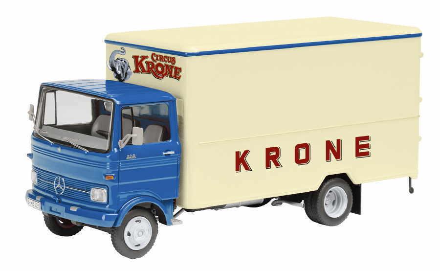 Schuco 1 43 450360200 LP 608 Valise Camion Circus Krone Nouveau Neuf dans sa boîte