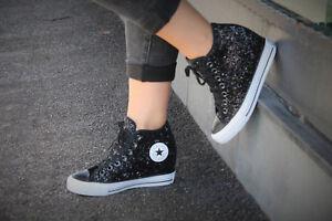 Hauptmerkmale Damen Schuhe Converse 's CT LUX Mid Wedge Heel